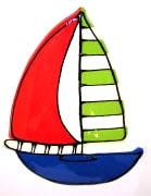 yachtlargeredlime